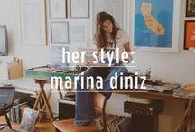 Her style: marina diniz / Passamos um dia ao lado da DJ Marina Diniz para descobrir um pouco mais sobre sua vida e estilo