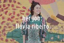 Her job: flávia ribeiro / Como é ser uma stylist da Farm? Fomos conhecer a Flávia Ribeiro, que tem esse trabalho incrível e descobrir como é o dia a dia dela!