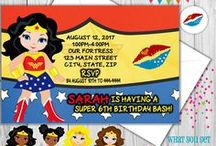 Top Party Themes / Party Themes, Party ideas, party invitations, party favors