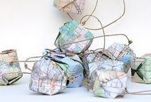 Map Art & DIY