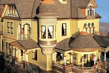 Victorian Painted Ladies / Beautiful Victorian houses. / by * Stardust *