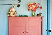 Cupboard Love / Amazingly gorgeous vintage cupboards. Love.