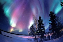 "Aurora Borealis / I love the ""Northern Lights"" if you have seen them you know how magical they are."