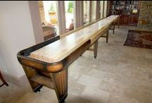 Rock Ola Shuffleboard Table / Our Rock Ola shuffleboard tables are built exactly as the original models were in 1949 and 1948 with only minor adjustments made. No detail is left out with the Rock Ola table!