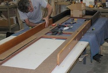 Shuffleboard Restoration / See how our skilled artisans restore and transform shuffleboard tables!