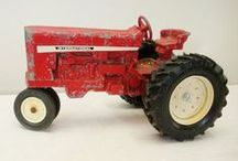 Toy Tractor Collections