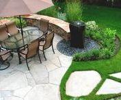 Patio Ideas / Back yard patio ideas.