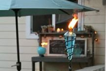 Backyard Ambiance / We've always believed lighting is the most important element to the party. We hope these pins inspire you to create ambiance in your backyard!