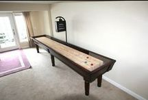 Huntington Shuffleboard Table / Whether you enjoy a little friendly competition or you're simply on the hunt for something unique to fill your space, no game room is complete without a Huntington Shuffleboard Table.