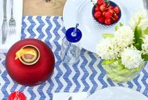 Outdoor Entertaining Ideas / From the perfect lighting to flipping over your furniture, we're sharing our secrets to effortless summer entertaining.