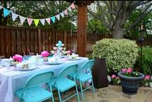 Bridal Shower Ideas / We think the backyard is the perfect place to celebrate special occasions with family and friends.