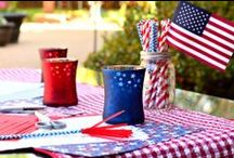 Fourth of July Entertaining / Fourth of July is one of our favorite holidays to celebrate! Here's a collection of all our festive finds.