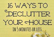 Cleaning & Organization / Cleaning tips and schedules, plus useful ideas for keeping yourself and your home organized.