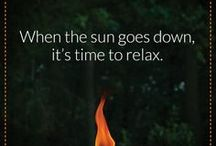 #TIKIWisdom / A little inspiration to encourage you to spend as much time relaxing outside as possible.