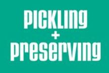 Pickling + Perserving / Recipes for Pickling and preserving illustrated by artists from around the world and posted to TDAC.