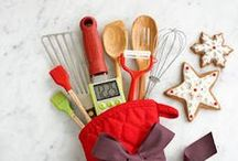 Holiday Kitchen Needs with a Maple Chopping Block / Make sure you have all of your festive kitchen needs for the holiday season. With a McClure End Grain Maple Butcher Block Chopping Block your holiday cooking will be easy!