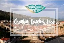 Croatia Bucket List / Croatia - this board is all about my favourite country :) From Split to Dubrovnik to Novigrad and Zagreb - my Croatia Bucket list is so long that I need to separate it from my travel bucketlist.