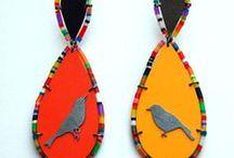 Jewelry 2 - Earrings Galore / Handmade earrings, handmade jewelry, beautiful jewelry, bijoux, colorful earrings, colorful jewelry, jewels
