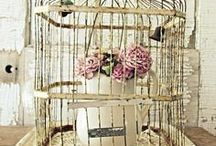 Bird Cage Innards / Bird cage decor