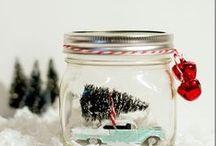 Christmas 'Car in a Jar'