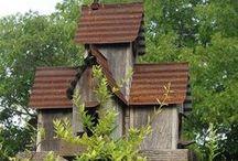 Birdhouse 4 Front Yard Decor