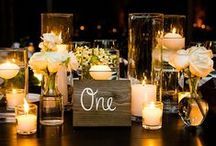 Stunning Centrepieces / by The Wedding Playbook