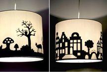 lamper / DIY, inspiration, ides
