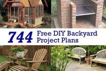 Garden  / DIY, inspiration, ides