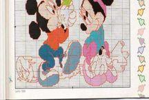 Disney symønstre / DIY, inspiration, ides