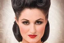 PinUp Hair / Coiffures style pin-up et vintage