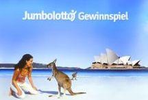 Australia / Jumbolottos Weihnachts-Sonderverlosung:  Gewinn eine 14-tägige Reise inklusive Flug und Hotel für 2 Personen durch Australien im Wert von 6.000 € - Der Gewinner kann seine Reise individuell mit TravelEssence (www.travelessence.de) gestalten. Spiel einfach Lotto online bei Jumbolotto, denn alle abgegebene Spielscheine bis zum 22.12.14 nehmen an der Verlosung teil: https://www.jumbolotto.de/content/weihnachtsgewinnspiel/