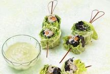 Sushi & Spring Rolls / We all know traditional sushi and spring roll recipes from Japan, Korea, Vietnam and more. Here's some unusual and delicious spins on these favorite dishes. / by PinUltimatePins for Success