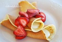 International Pancakes / Pancakes come in all forms -crepes, fritters, croquettes , waffles and the familiar hot cakes - in all flavors - sweet and savory, and are eaten all times of day in almost every country in the world. / by PinUltimatePins for Success