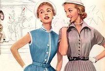 Mode des années  50