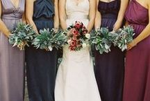 Berry, Navy & Gold Wedding Inspiration