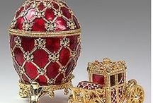 "Peter Carl Fabergé ✦ / Peter Carl Fabergé, also known as ""Karl Gustavovich Fabergé"" Russian: Карл Густавович Фаберже Karl Gustavovich Faberzhe,, was a Russian jeweler, best known for the famous Fabergé eggs, made in the style of genuine Easter eggs, but using precious metals and gemstones rather than more mundane materials. Lived: May 30, 1846 - Sep 24, 1920 (age 74) / by 💕 Karen 💕 C 💕"