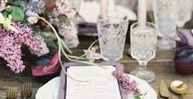 Plum, Lilac & Grey Wedding Inspiration