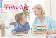 KCC: Tutoring Tips & Tools / Tutoring tips from Kid Care Concierge—your go to guide for all things parenting and life management!