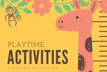 KCC: Playtime Activities / Playtime activities for kids from Kid Care Concierge—your go to guide for all things parenting and life management!