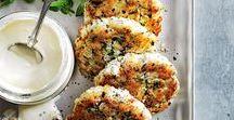 Crab Cakes, Salads & Dips