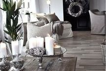 Interior Ideas / Fill your house with things you need or make you feel happy.