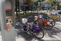 City bike rental services
