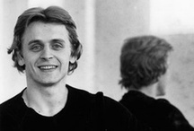 Mikhail Baryshnikov / Russian dancer, choreographer, and actor, one of the greatest ballet dancers in history. After a promising start in the Kirov Ballet in Leningrad, he defected to Canada in 1974 for more opportunities in western dance. After freelancing with many companies, he joined the New York City Ballet as a principal dancer to learn George Balanchine's style of movement. He then danced with the American Ballet Theatre, where he later became artistic director.