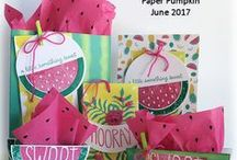 Paper Pumpkin / Paper Pumpkin Announcements and Projects from WildWestPaperArts.com  #mypaperpumpkin #stampinup #papercrafts