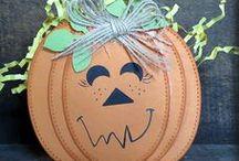 Halloween / Halloween Paper Crafts by Rae Harper-Burnet at WildWestPaperArts.com