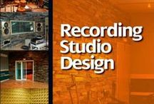Recording Studios & Recording Equipment / Collection of recording studio, recording equipment and applications.