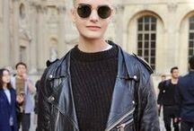 Lifestyle - Streetstyle / #lifestyle #leather #fashion #streetstyle #inspirations