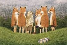 Mr Fox and friends