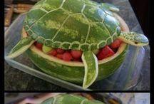 creare con la frutta ed ortaggi