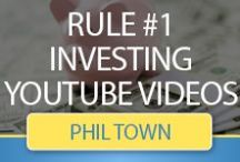 """Rule #1 Investing YouTube Videos / The following videos are part of our """"Rule #1 Investing"""" series, in which founder, contributor and investor Phil Town discusses topics and principals from around the investment world. In this video, Phil will explain investing principles and how they relate to Rule #1 Investing."""